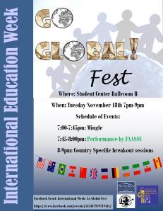 Go Global Fest Flyer